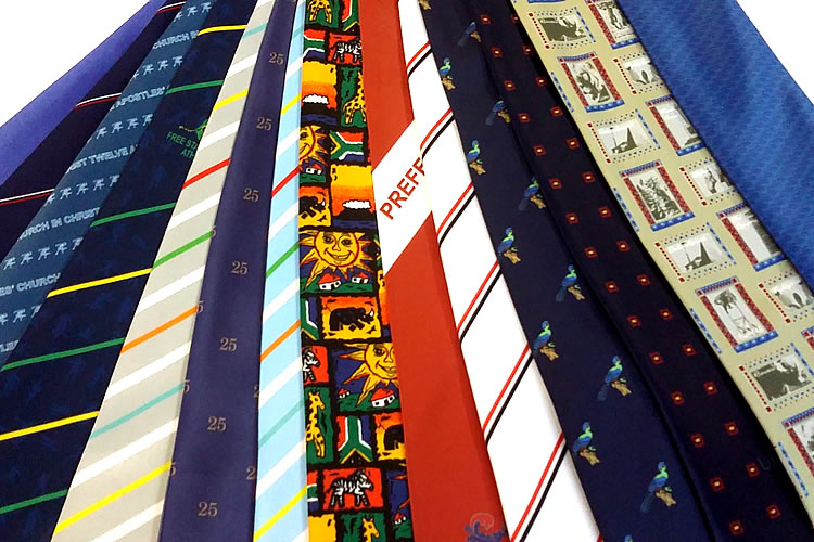 Sublimated Ties